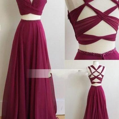 New Arrival Prom Dress,Burgundy Pro..