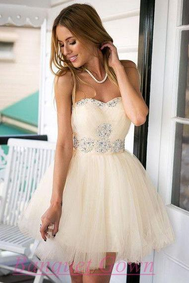 LJ31 New Arrival Tulle Prom Dress,Short Prom Dresses,Homecoming Dress,Homecoming Dresses