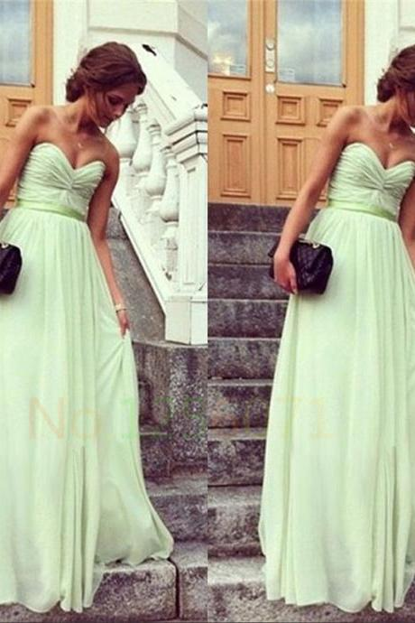 Long Prom Dresses,Chiffon Prom Dress,Formal Dress,Evening Dress