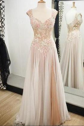Charming Prom Dress,Floor Length Prom Dress,Tulle Prom Dress,Long Prom Dresses