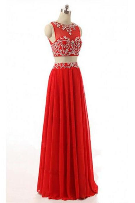 Charming Prom Dress,Chiffon Long Prom Dresses,Formal Evening Dress,Women Dress