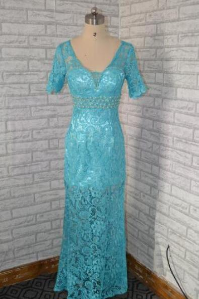 Sexy Evening Dress,Mermaid Formal Evening Dresses, Long Lace Formal Gown,Sexy Evening Gown