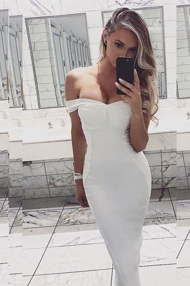Sexy Prom Dress,Off Shoulder Prom Dresses,Long Prom Dress,Formal Evening Dress,Mermaid Evening Dresses,Evening Gown