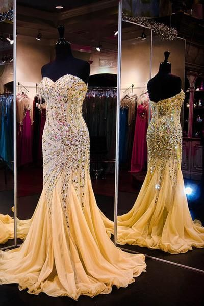 Sexy Prom Dress,Gegerous Crystal and Beaded Prom Dresses,Long Prom Dress,Formal Evening Dress,Mermaid Evening Dresses,Evening Gown