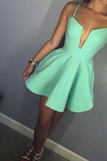 Cute Prom Dress,Cute Prom Gown,Sexy Prom Party Dress,Mini Prom Dresses