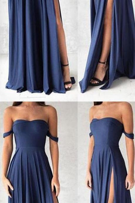 Sexy Prom Dress,Off Shoulder Prom Dresses,Prom Dress,Formal Evening Dress,Long Prom Dresses