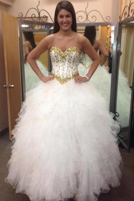 Sexy Prom Dress,Ball Gown Prom Dress,Long Prom Dresses,Formal Evening Dress,Elegant Quinceanera Dresses