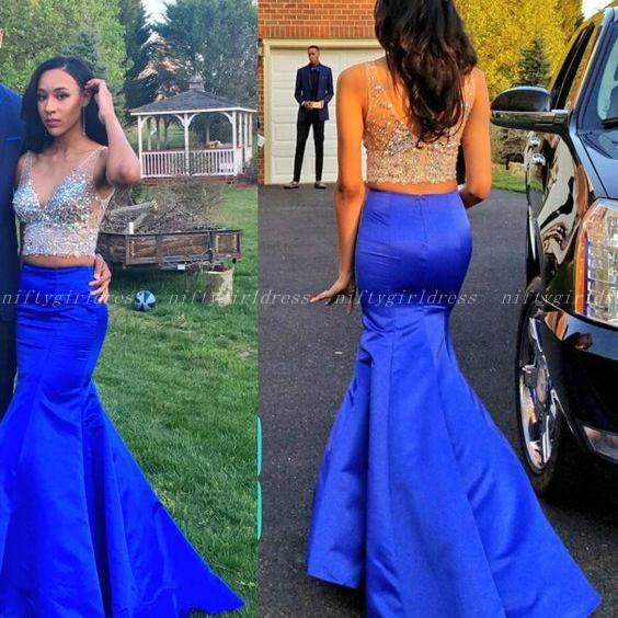 Charming Prom Dresses,Royal Blue Prom Dress,Floor Length Prom Dress,Long Evening Dress,Formal Dress
